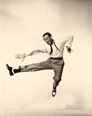 Fred Astaire In Daddy Long Legs 1955 Art Print by Mountain Dreams