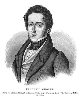 Frederic Chopin (1810-1849) Art Print by Granger