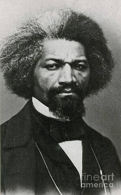 Abolitionism Photograph - Frederick Douglass, African-american by Photo Researchers