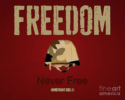 Digital Art - Freedom by Gaby Juergens