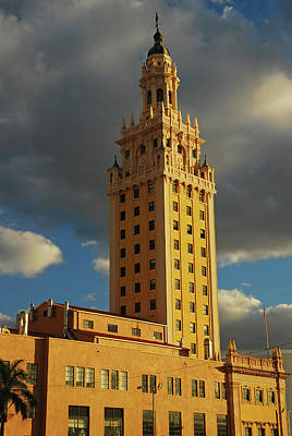 Photograph - Freedom Tower, Miami by James Kirkikis