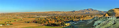 Photograph - Freezeout Hill View by Robert Bales