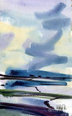 Fremont Salt Pans Art Print by Donald Maier