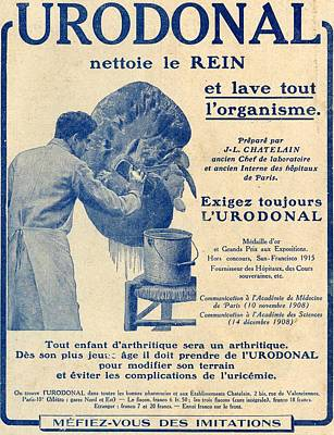 French Advertisement C.1916 For Print by Vintage Design Pics