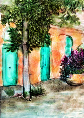 Bryant Mixed Media - French Quarter Alley by Brenda Bryant