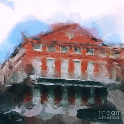 Digital Art - French Quarter by Paul Wilford