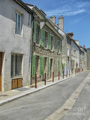 Photograph - French Street In Summer by Patricia Hofmeester