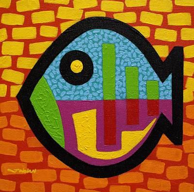 Friday Fish Art Print