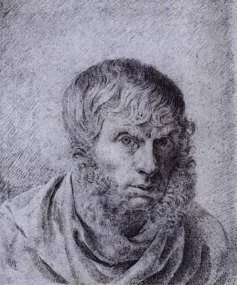 Caspar Digital Art - Friedrich Caspar David Self Portrait  by Caspar David Friedrich