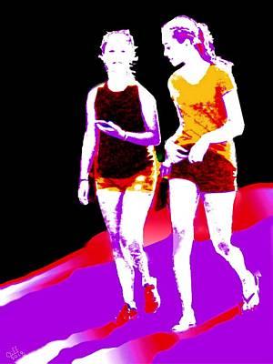 Digital Art - Friendship by Cliff Wilson