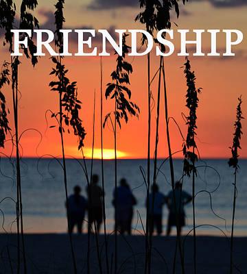 Good Friends Photograph - Friendship  by David Lee Thompson
