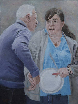 Painting - Friendship  by Masami Iida