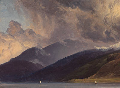 Painting - From Balestrand At The Sognefjord by Thomas Fearnley