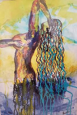 Painting - From The Depths Of The Ocean by Judi Goodwin