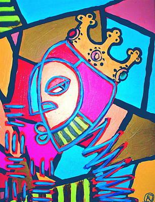 From The Hill And Beyond Art Print by Malik Seneferu