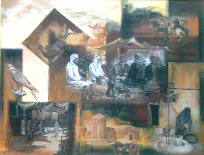 Painting - From The History by Jaffo Jaffer