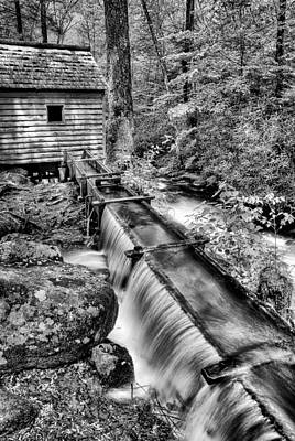 Old Mills Photograph - From The Old Days by Paul W Faust -  Impressions of Light