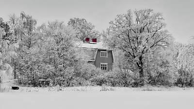 Photograph - Frosty Winter Wonderland - Finland by Finmiki