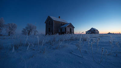 Photograph - Frozen And Forgotten by Aaron J Groen