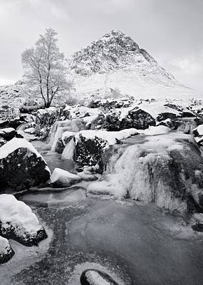 Photograph - Frozen Coupall Falls by Stephen Taylor
