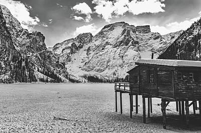 Photograph - Frozen Lake Braies by Unsplash