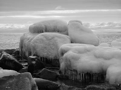 Duluth Photograph - Frozen Over by Alison Gimpel