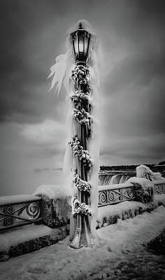 Photograph - Frozen Over Niagara Falls by Unsplash