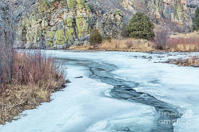 Photograph - Frozen River by Marek Uliasz