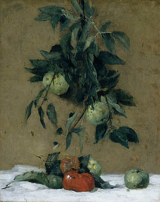 Painting - Fruit by Julian Alden Weir
