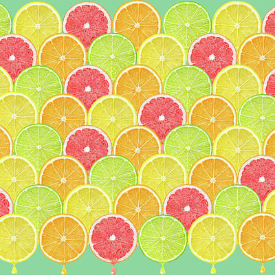 Fresh Fruit  Print by Mark Ashkenazi