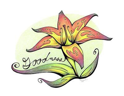 Fruit Of The Spirit Series 2 Goodness Art Print