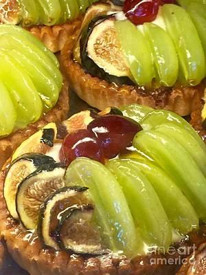 Photograph - Fruit Tart Dessert by Susan Garren