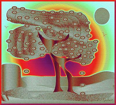 Digital Art - Fruit Tree by Iris Gelbart
