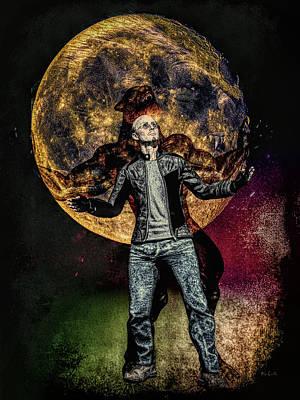 Full Moon Art Print by Bob Orsillo
