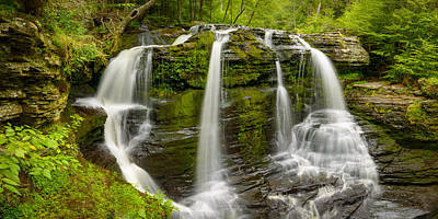 Photograph - Fulmer Falls by Mark Robert Rogers