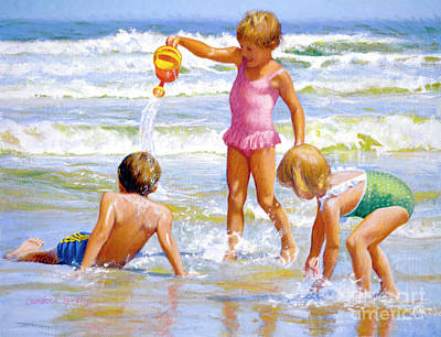 Painting - Fun And Games by Candace Lovely