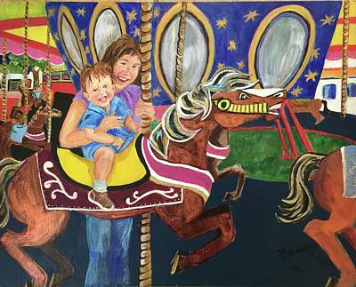 Painting - Fun At The Fair by Charme Curtin