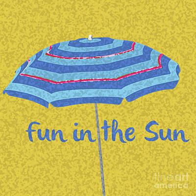 Mixed Media - Fun In The Sun by Edward Fielding