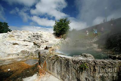 Furnas Photograph - Furnas Hot Springs by Gaspar Avila