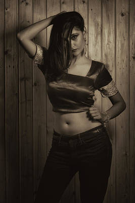 Lady Photograph - Fusion Fashion by Kiran Joshi