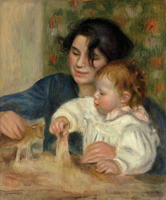 Gabrielle And Jean Renoir Painting - Gabrielle And Jean by Pierre-Auguste Renoir