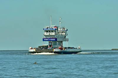 Photograph - Galveston Ferry by Robert Brown