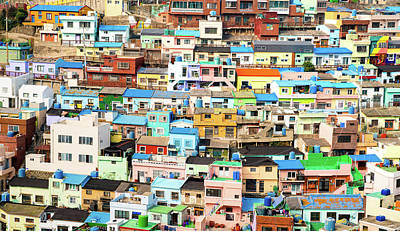 Photograph - Gamcheon Culture Village by Max Neivandt