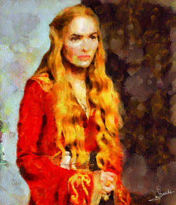 Adventure Painting - Game Of Thrones 4 by George Rossidis