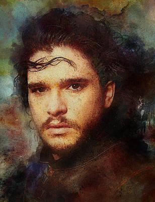 Cersei Digital Art - Game Of Thrones. Jon Snow by Game Of Thrones
