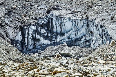 Photograph - Ganges River Glacier by Nila Newsom