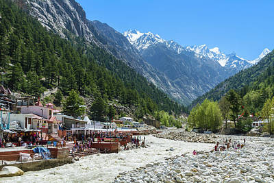 Photograph - Gangotri - Indian Himalayas by Nila Newsom