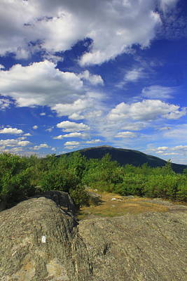 Mount Monadnock Photograph - Gap Mountain Mount Monadnock by John Burk