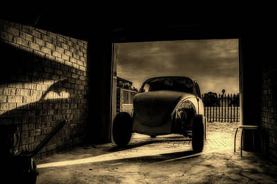 Photograph - Garage At Sunset by Unsplash