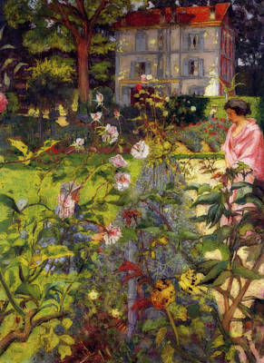 Painting - Garden At Vaucresson by Edouard Vuillard
